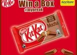 Win a box of new KitKat Mocha