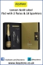 lanson-gold-label-75cl-with-2-flutes-and-sparklers